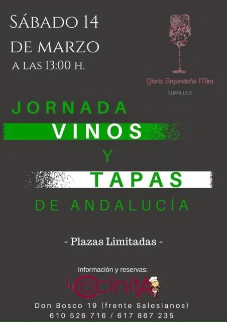 La Cocinita de Anita en la Jornadas de Vinos y Tapas de Andalucía Fuente: La Cocina de Anita