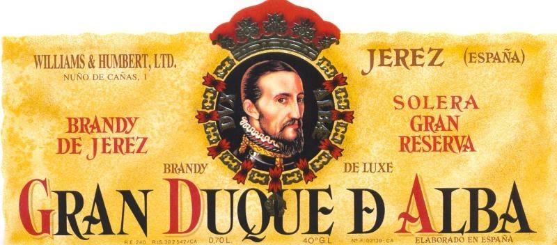 Brandy Gran Duque de Alba. Fuente [en linea]: www.cepdivin.org