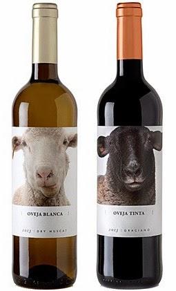 (De izquierda a derecha) Oveja Blanca y Oveja Tinta. Fuente [en línea]: www.ideasvinos.com