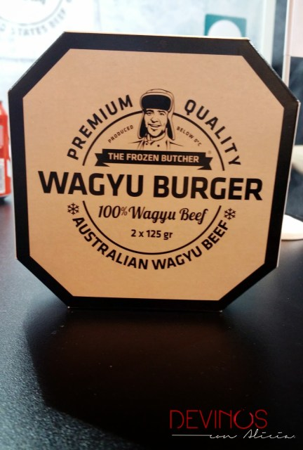 The Frozen Butcher, Wagyu Burger. Fuente: Devinos con Alicia