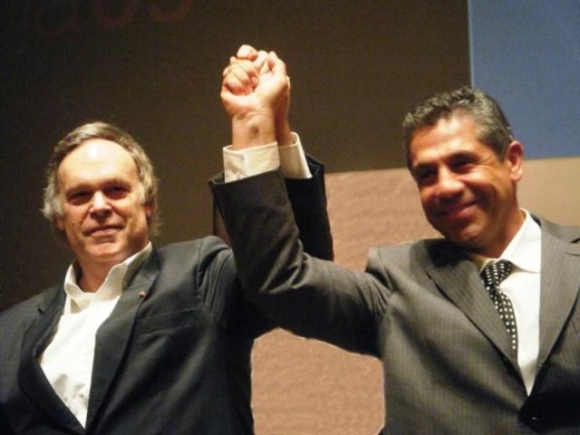 Pancho Campo acompañado del famoso crítico estadounidense Robert Parker. Fuente [en línea]: www.panchocampo.com