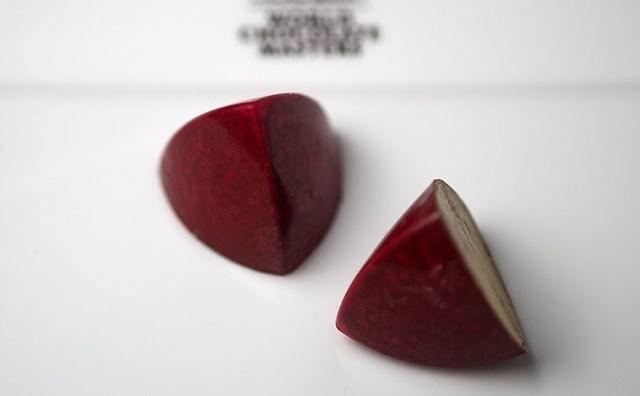 Bombón Prasat, dulce con el que Pepe Ysla se proclama representante de España en World Chocolate Masters. Fuente: Pepe Ysla