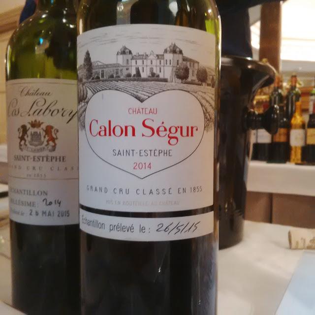 Châteu Calon Ségur 2014. Fuente: Colectivo Decantado