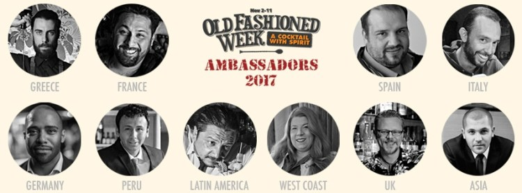 Embajadores Old Fashioned Week 2017. Copyright: www.old-fashioned-week.com