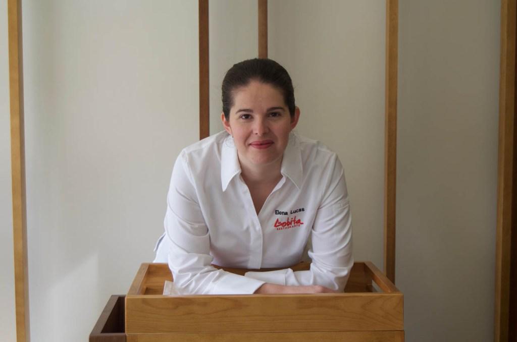 Elena Lucas, Restaurante La Lobita*, una de los ponentes de la sexta edición de Soria Gastronómica.