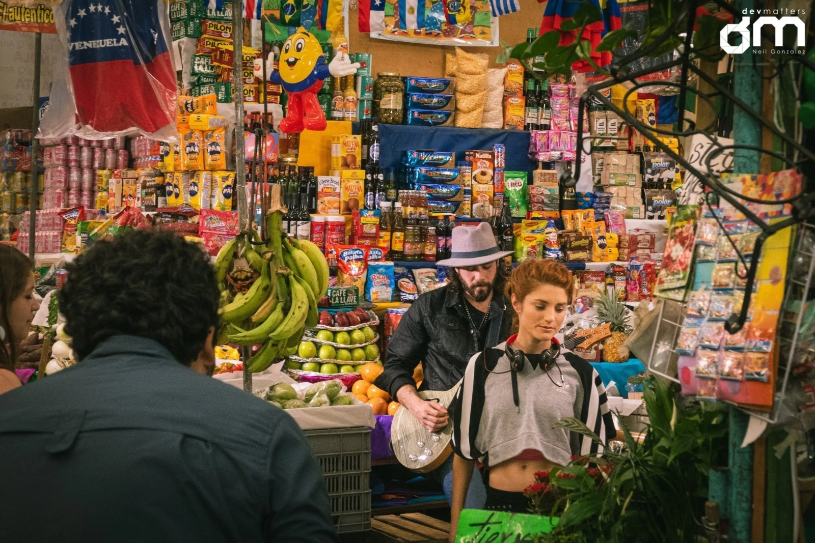 Pancha Contreras Music Video - Medellin Market