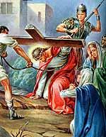 [Jesús con la cruz a cuestas]