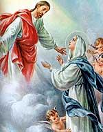 [La asunción de la Virgen María]
