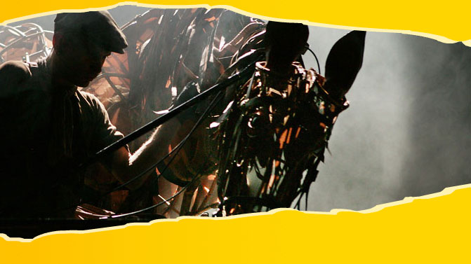 War Horse at the National Theatre