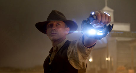 Cowboys v Aliens movie