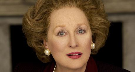 Meryl Streep at Margaret Thatcher