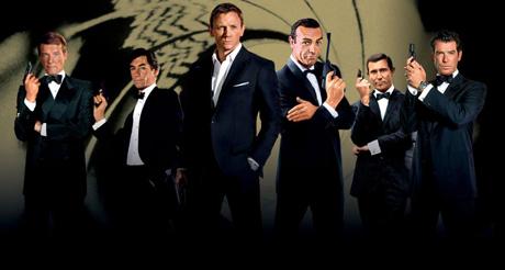 James Bonds, on Sky Movies