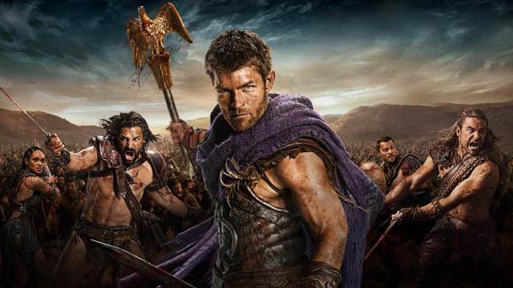 Spartacus War of the Damned; KEYART