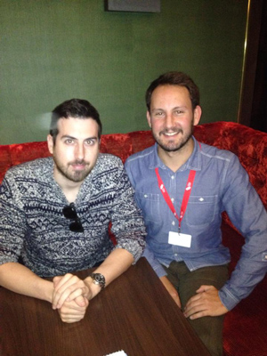 Ti West and Simon Roger Key