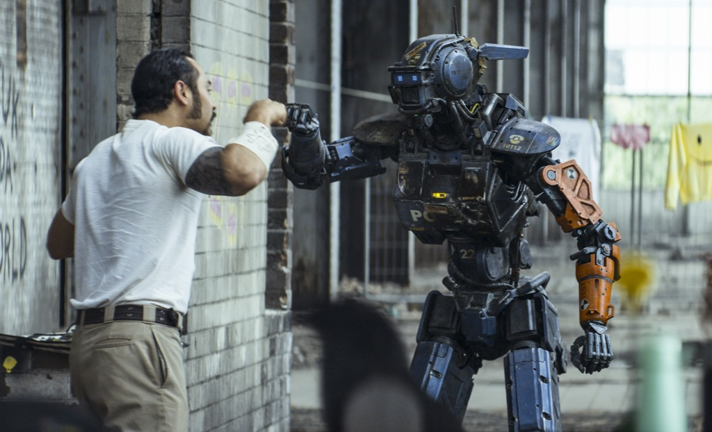 Sex, Leins & Videotape #201. Tom Leins reviews Chappie, The Voices, Two Men In Town and Last Knights