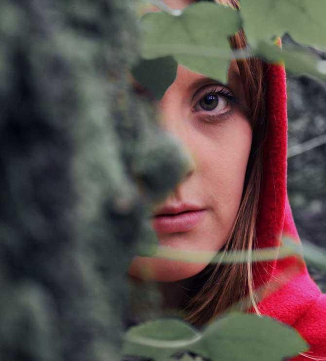 Red Hooded Girl still