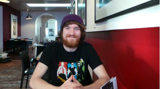 On the buses: Simeon Costello is a filmmaking going places (profile)