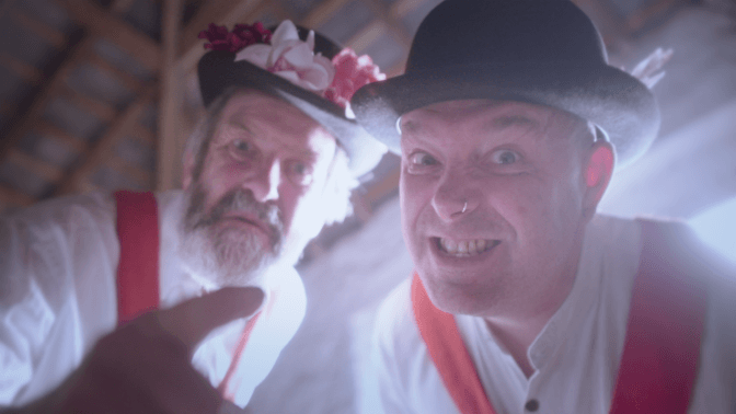 Film debut for Devon Morris Dancers in 'Hell's Bells' iShorts selected project launches Crowdfunder