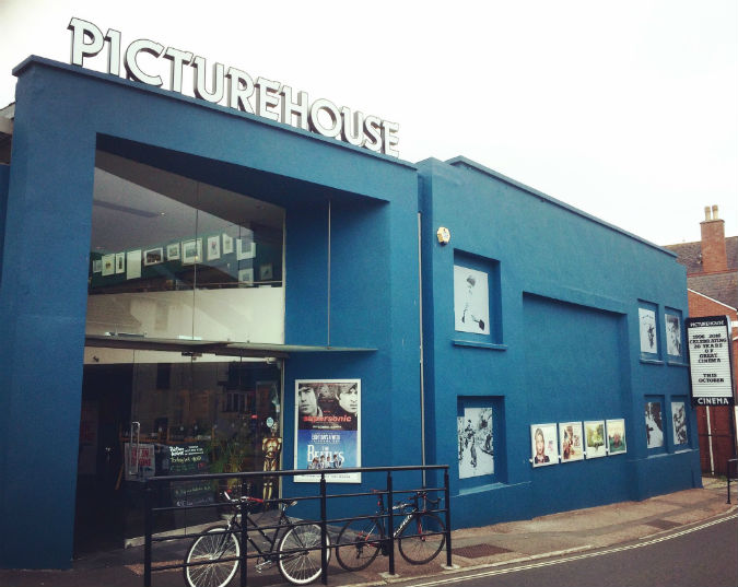The Refurbishment of the exterior of the Exeter Picturehouse is now complete