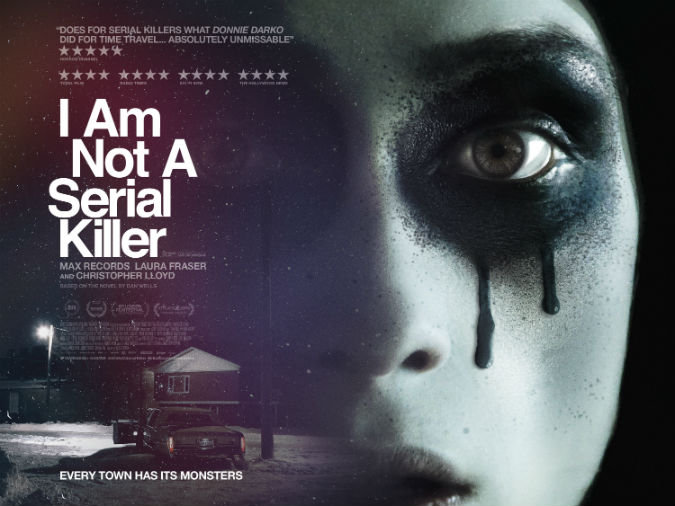 Darkly funny and off-beat I Am Not A Serial Killer special Q&A in Exeter with Devon-based director