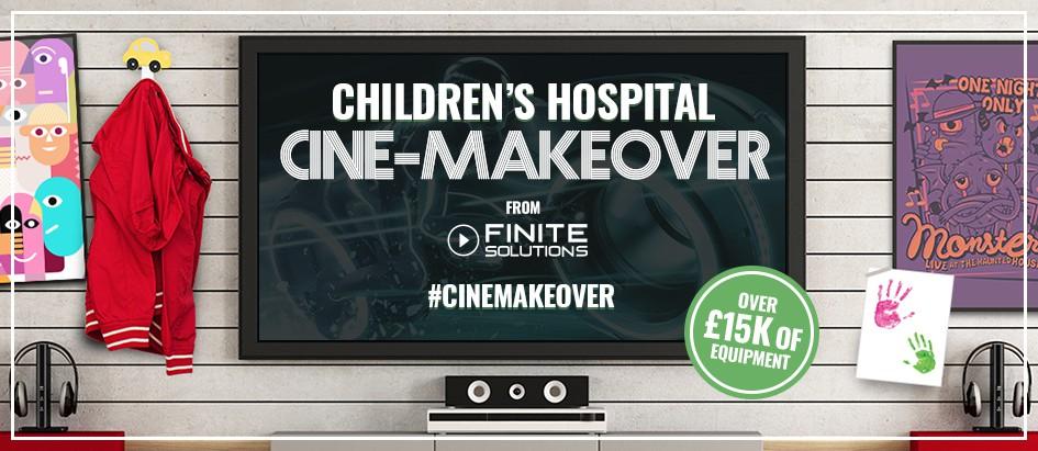 Nominate a children's hospital for a 'Cine-Makeover'