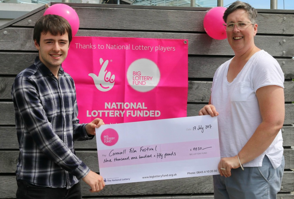big lottery fund cheque