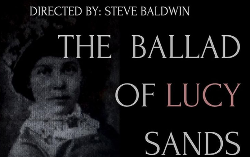The Ballad of Lucy Sands poster featuring a picture from the 19th century