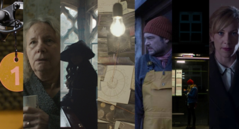 the local talent screening mosaic - a slice of still from each of the films