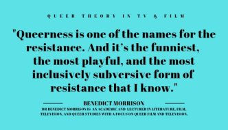 A quote from Benedict Morrison