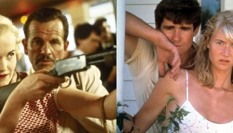 stills from two films for reclaim the frame