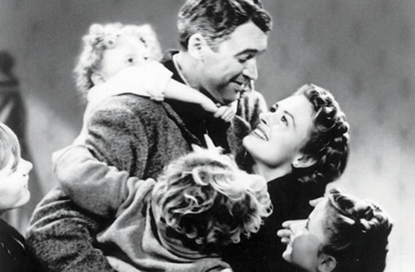 a picture from it's a wonderful life