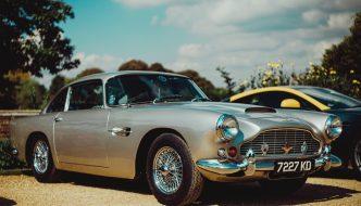 a silver car - aston martin db 5