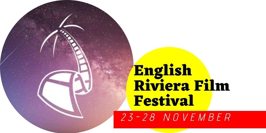 English Riviera Film fest and logo
