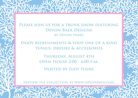 Devon Baer Trunk Show August 2011