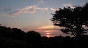Sunset from Garden 2014