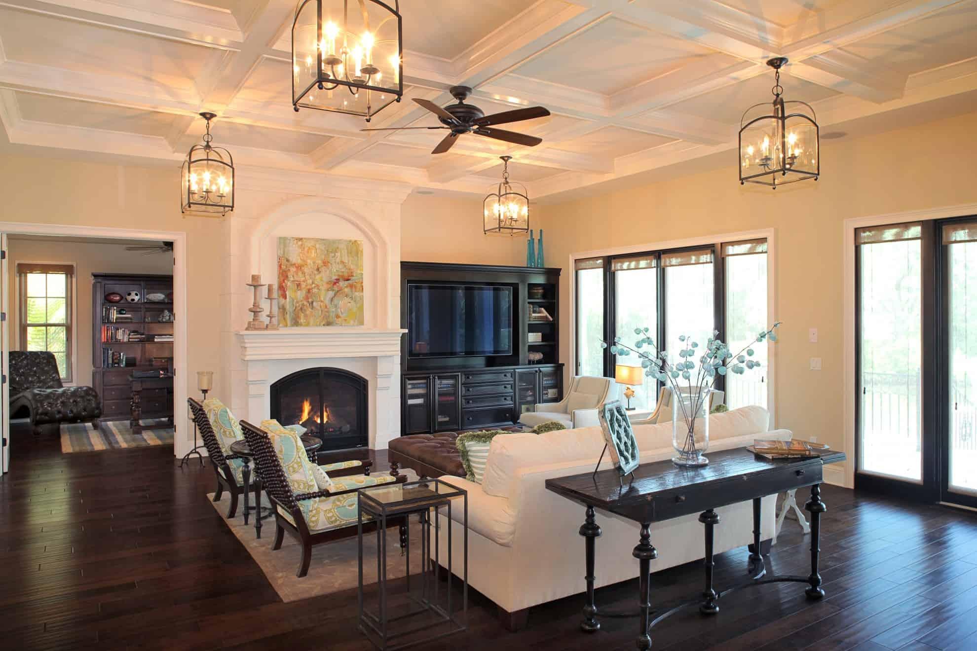 Great Rooms Amp Fireplaces Luxury Estates Devonshire