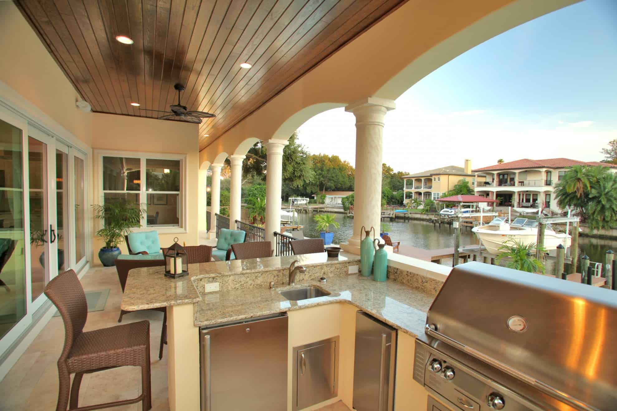 Outdoor Living Areas   Tampa Bay   Devonshire Custom Homes on Custom Outdoor Living id=16432