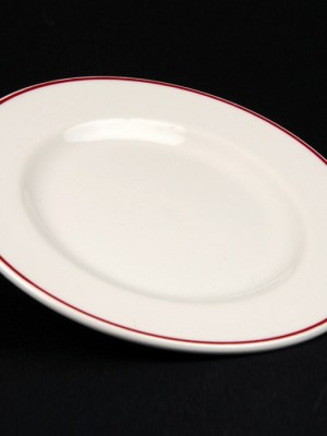 "SIDE PLATE 6"" Budget Crockery Hire"