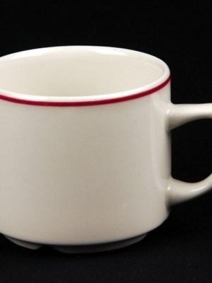 TEA / COFFEE CUP 7oz Budget Crockery Hire
