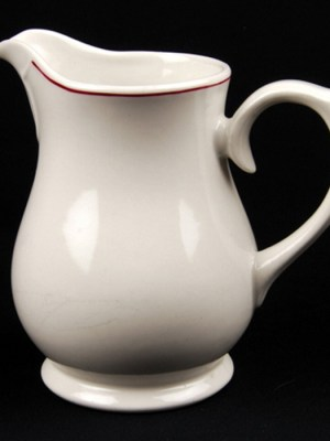 MILK JUG 20oz Budget Crockery Hire