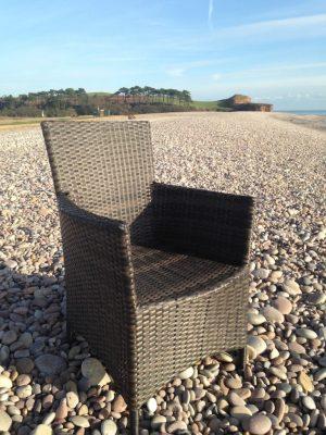 Rattan armchair (assorted)