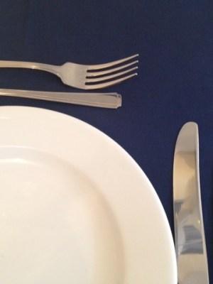 "MIDNIGHT BLUE LINEN TABLECLOTH 54"" x 54"""