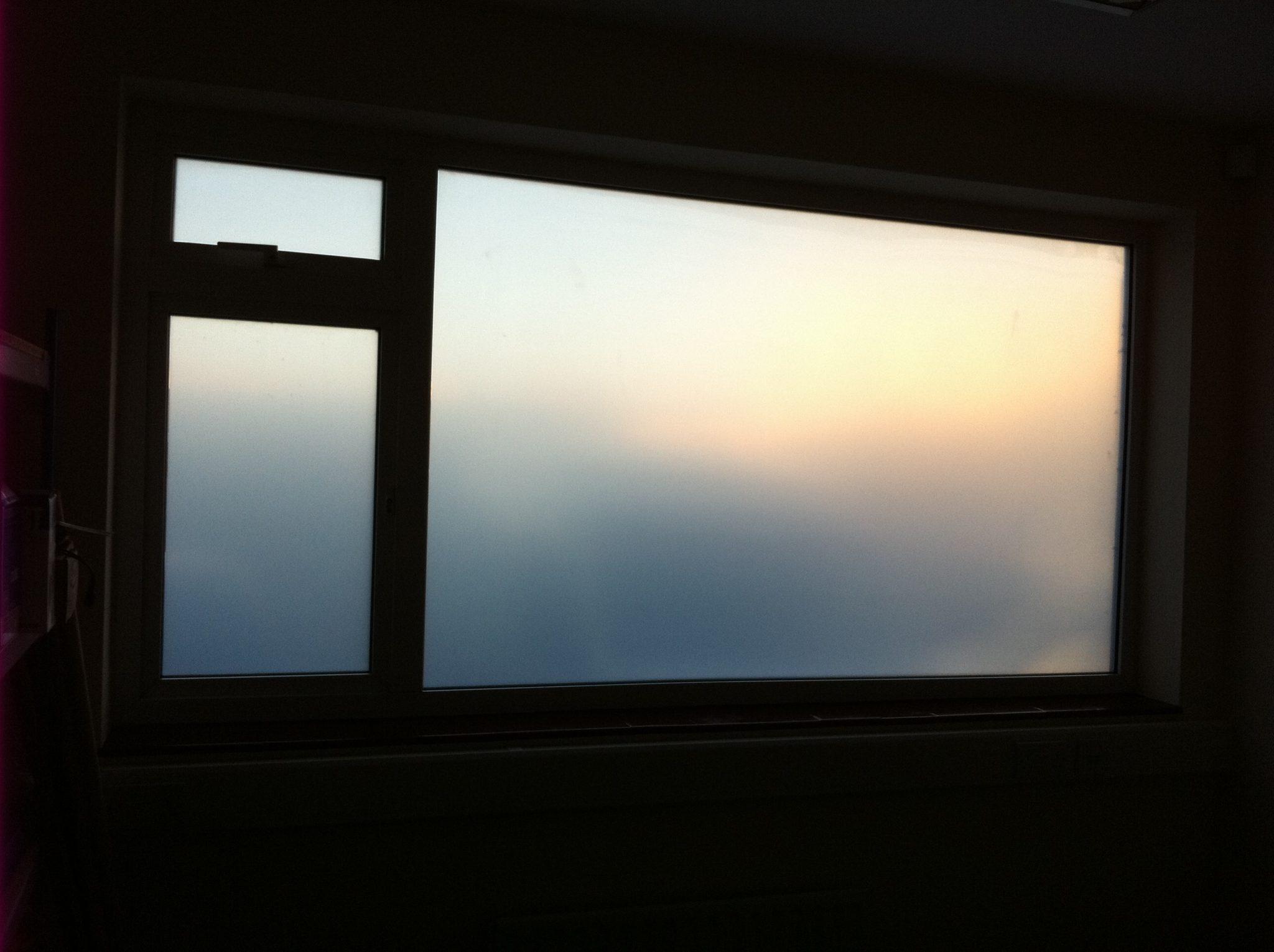Opal Frost Window Film