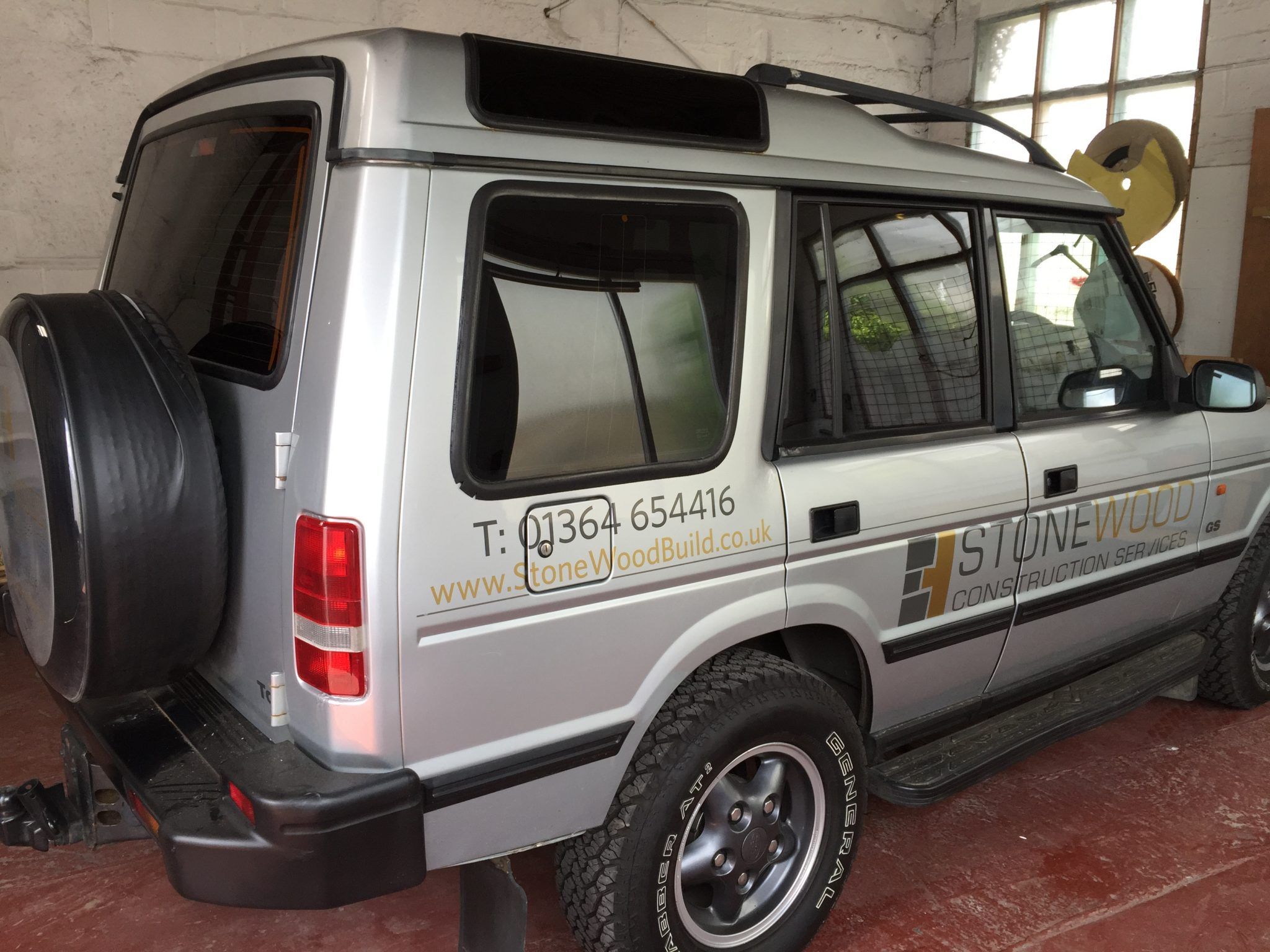 Land Rover Discovery Window Tint