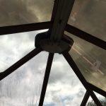 Solar Bronze Window Film partially complete