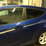 Ford Fiesta with Llumar ATC 15 medium window tint