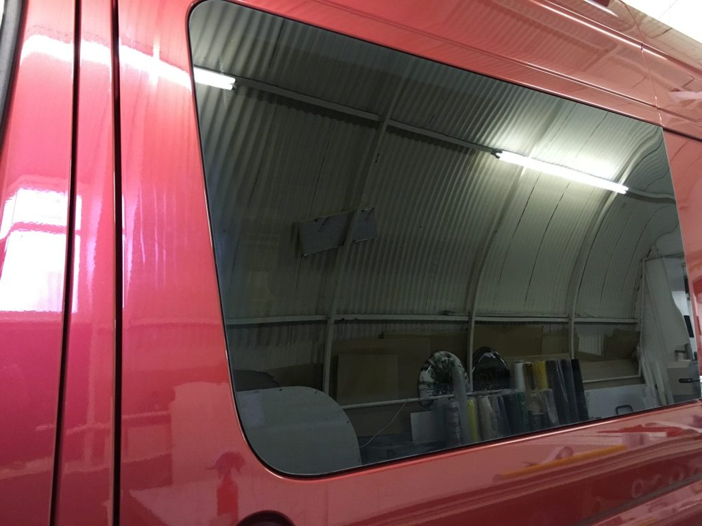 VW Crafter Window Tint