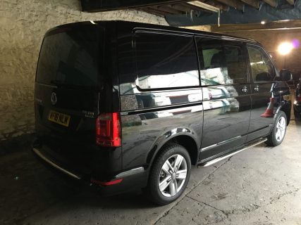 VW Transporter T6 Privacy Tint