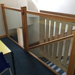Stairway Glazing Safety Film