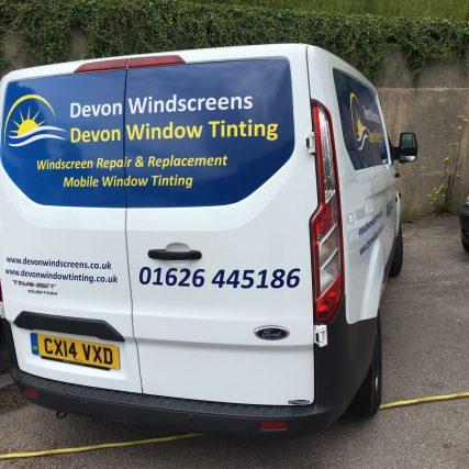 Devon Window Tinting Van Logo